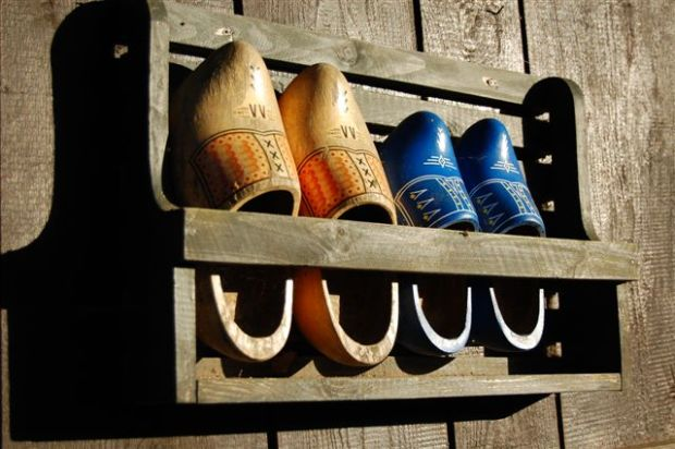 Dutch Klompen (wooden shoes). Source: Web